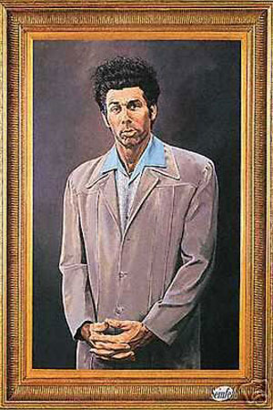 "Seinfeld The Kramer Painting XL CANVAS PRINT poster 24/""X 36/"""