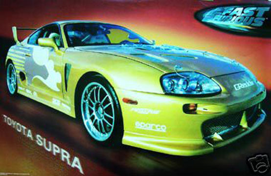 Toyota Supra Edition On The App Store: Car And Bike Art : HotStuffDropShip.com, The Poster Specialist